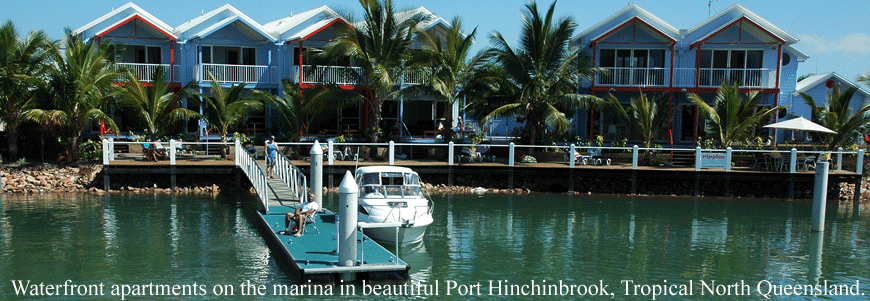 Ripples On The Marina Port Hinchinbrook - Tourism Cairns
