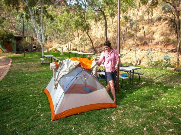 Standley Chasm Angkerle Camping - Tourism Cairns