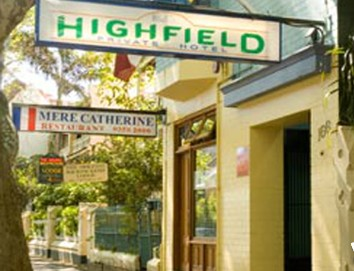 Highfield Private Hotel - Tourism Cairns