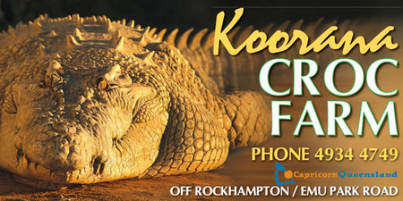 Koorana Saltwater Crocodile Farm - Tourism Cairns