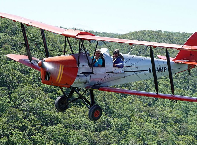 Tigermoth Joy Rides - Tourism Cairns