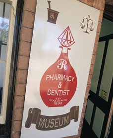 Pharmacy Museum - Tourism Cairns