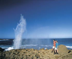 The Blowholes Carnarvon - Tourism Cairns