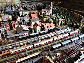 Tudor Court Model Village and German Model Train World - Tourism Cairns