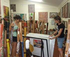 Top Didj  Art Gallery - Tourism Cairns