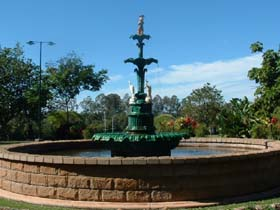 Band Rotunda and Fairy Fountain - Tourism Cairns