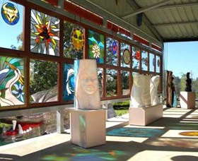 Alpha31 Art Gallery and Sculpture Garden - Tourism Cairns
