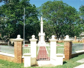 Boonah War Memorial and Memorial Park - Tourism Cairns