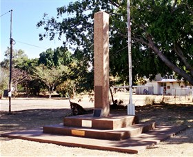 Mount Isa Memorial Cenotaph - Tourism Cairns
