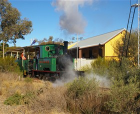 Red Cliffs Historical Steam Railway - Tourism Cairns