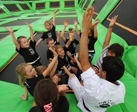 Flip Out Trampoline Arena - Tourism Cairns
