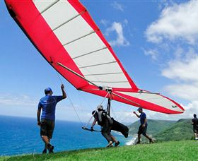 Hang gliding Oz - Tourism Cairns