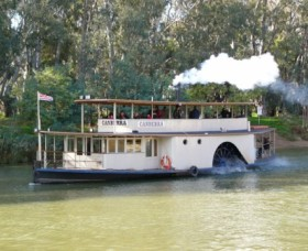 Paddlesteamer Canberra - Tourism Cairns