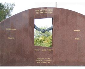 Cowra Italy Friendship Monument - Tourism Cairns