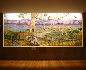 Adaminaby Memorial Hall Stage Curtain - Tourism Cairns