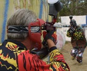 Paintball Skirmish - Tourism Cairns