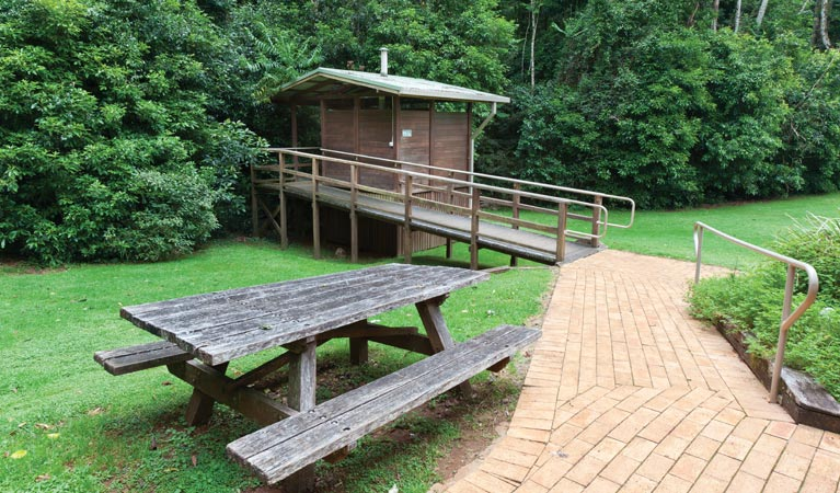 The Glade picnic area
