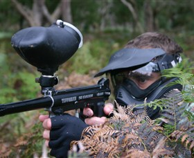 Tactical Paintball Games - Tourism Cairns