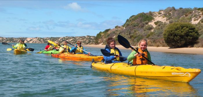 Canoe the Coorong