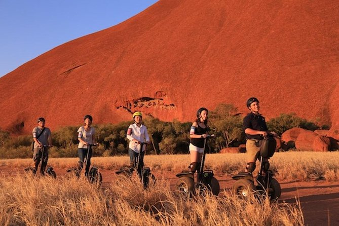 Quarter Uluru Segway  Sunset - Tourism Cairns