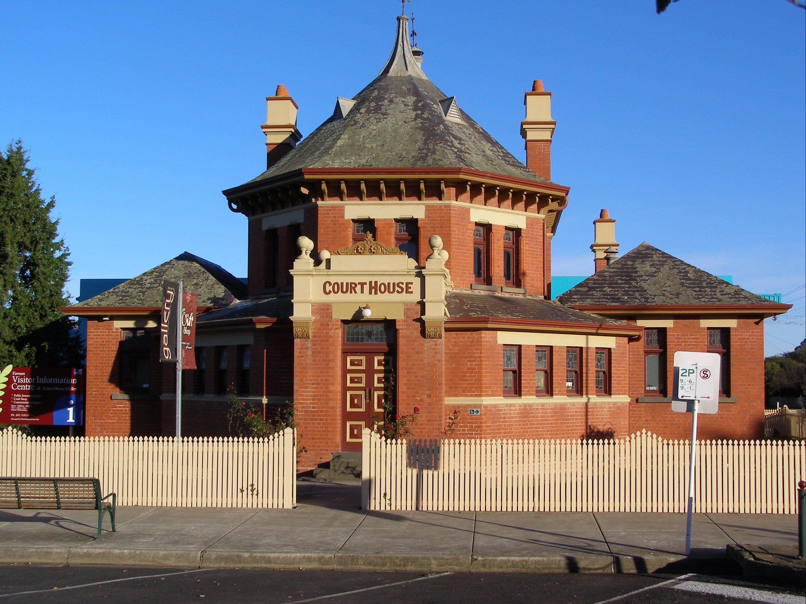 Yarram Courthouse Gallery - Tourism Cairns