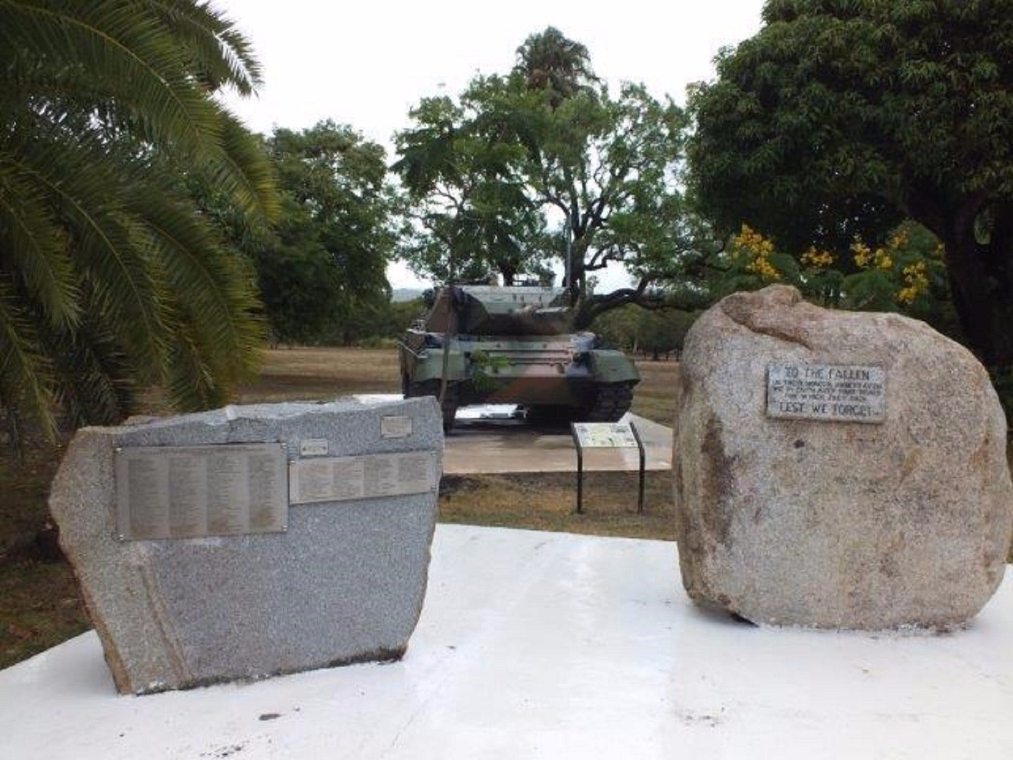 Cooktown War Memorial - Tourism Cairns