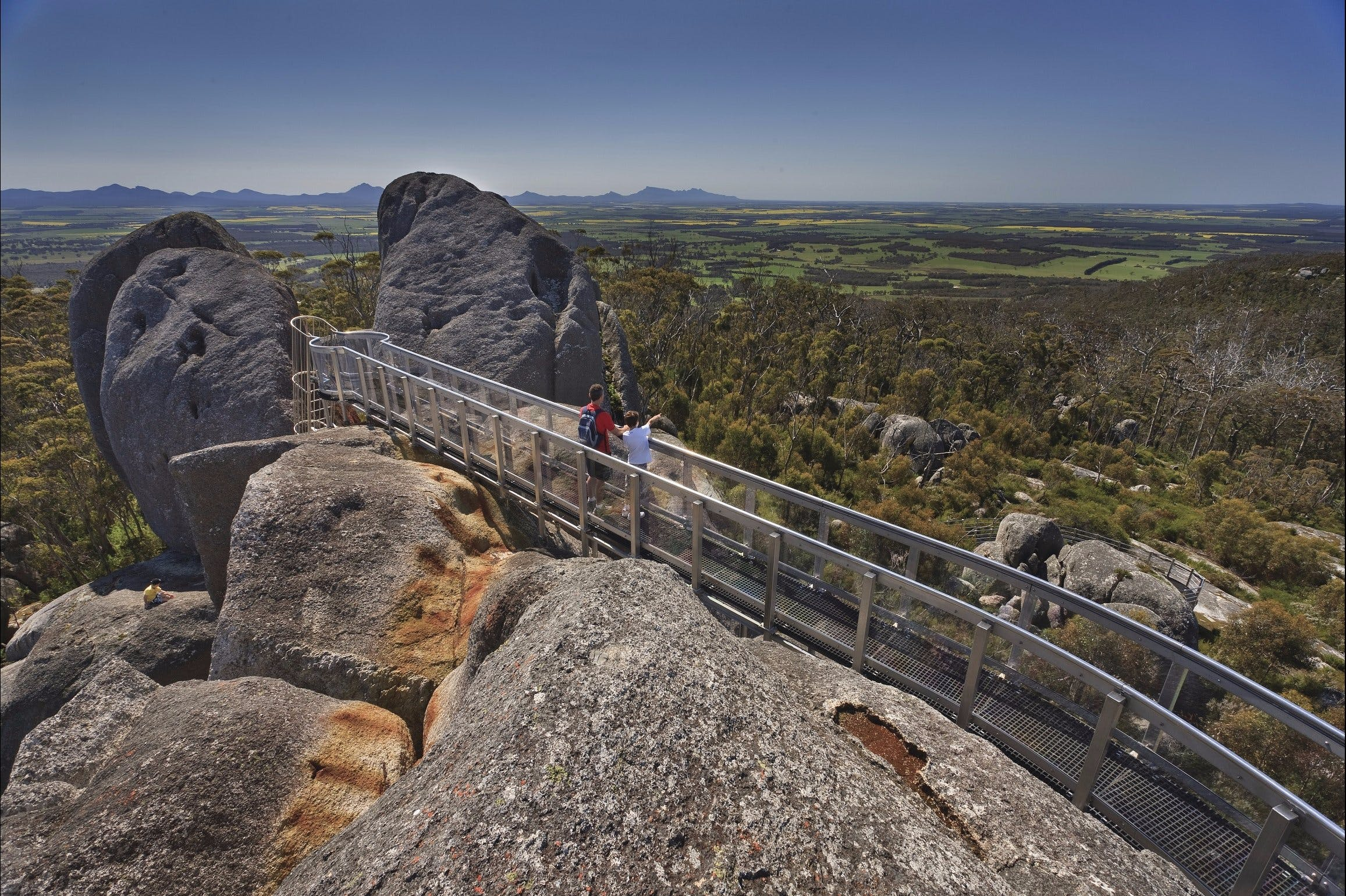 Granite Skywalk - Tourism Cairns