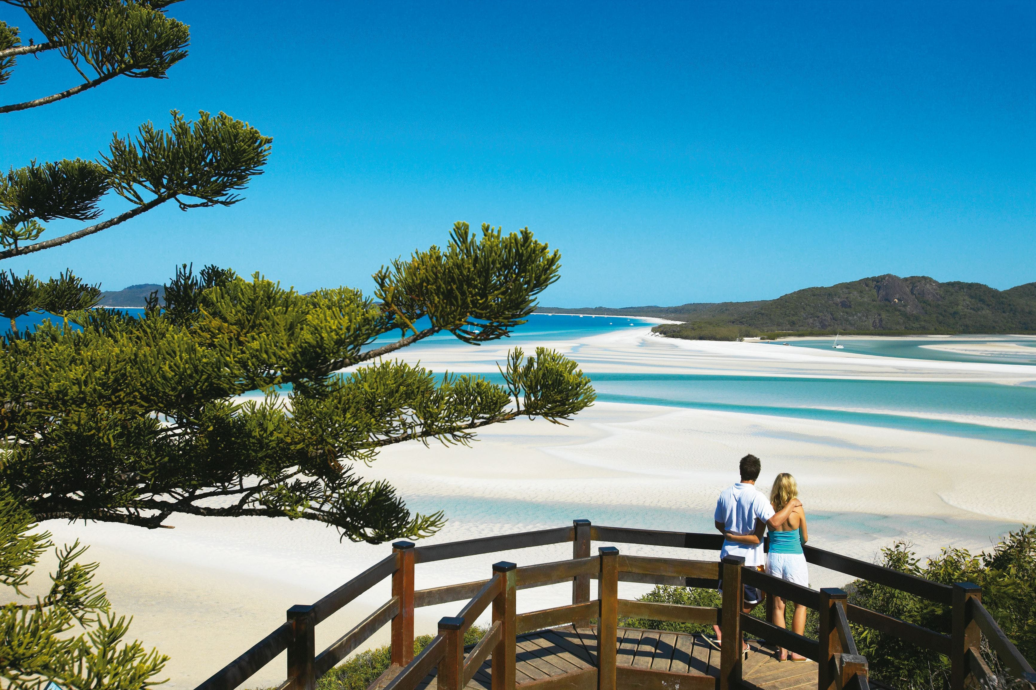 Hill Inlet Lookout Track Whitsunday Islands National Park - Tourism Cairns