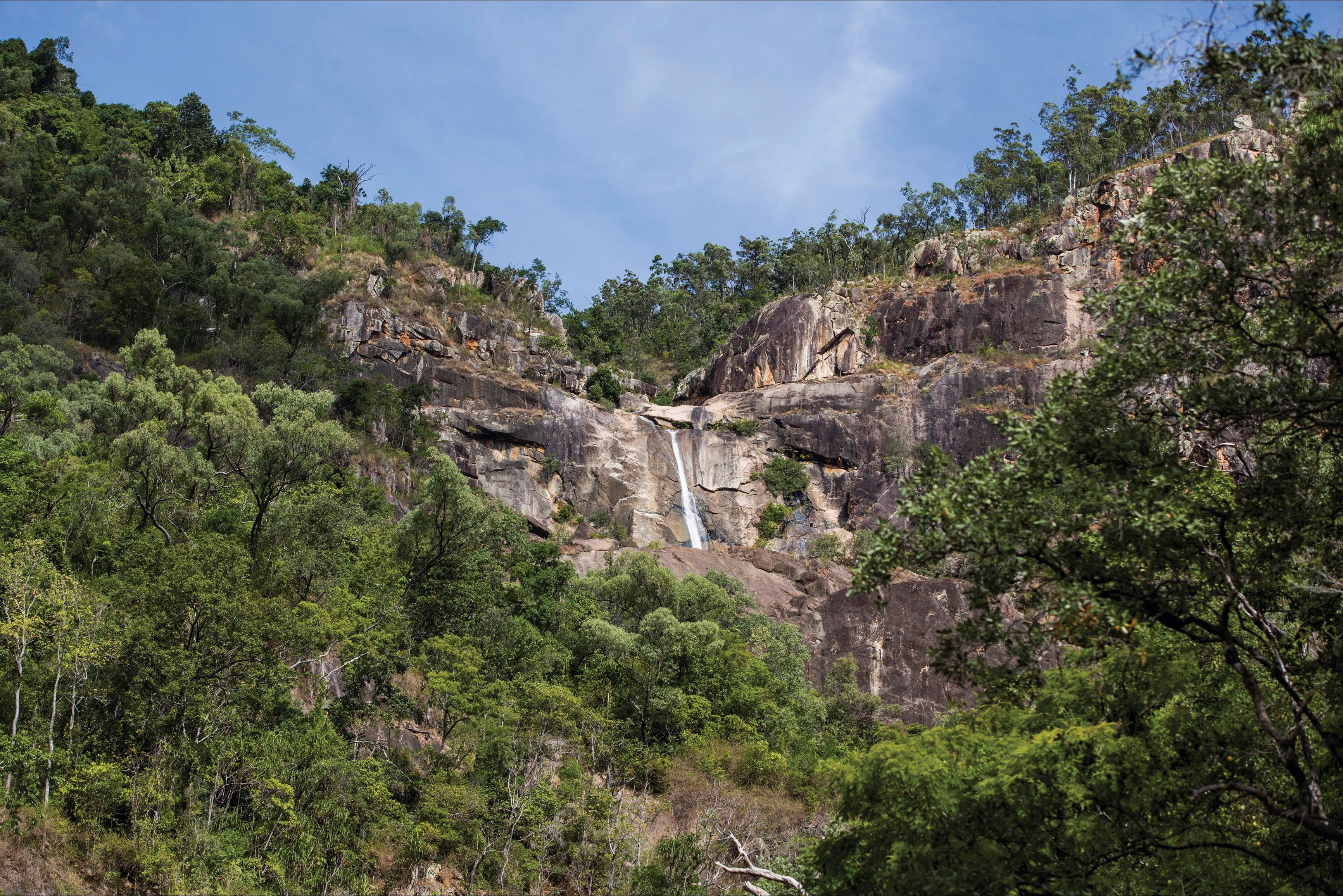 Jourama Falls Paluma Range National Park - Tourism Cairns