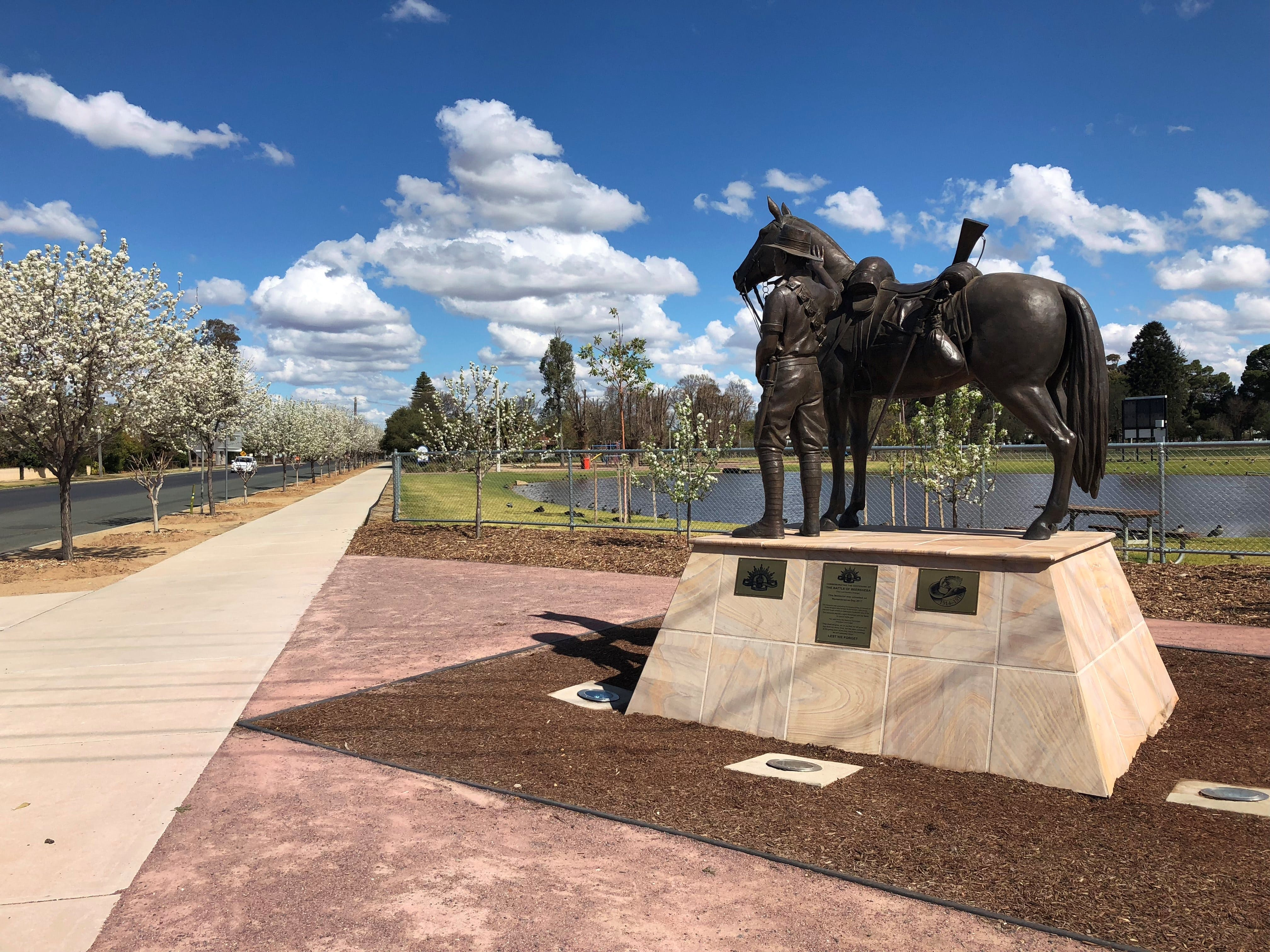 Light Horse Memorial Hay - Tourism Cairns