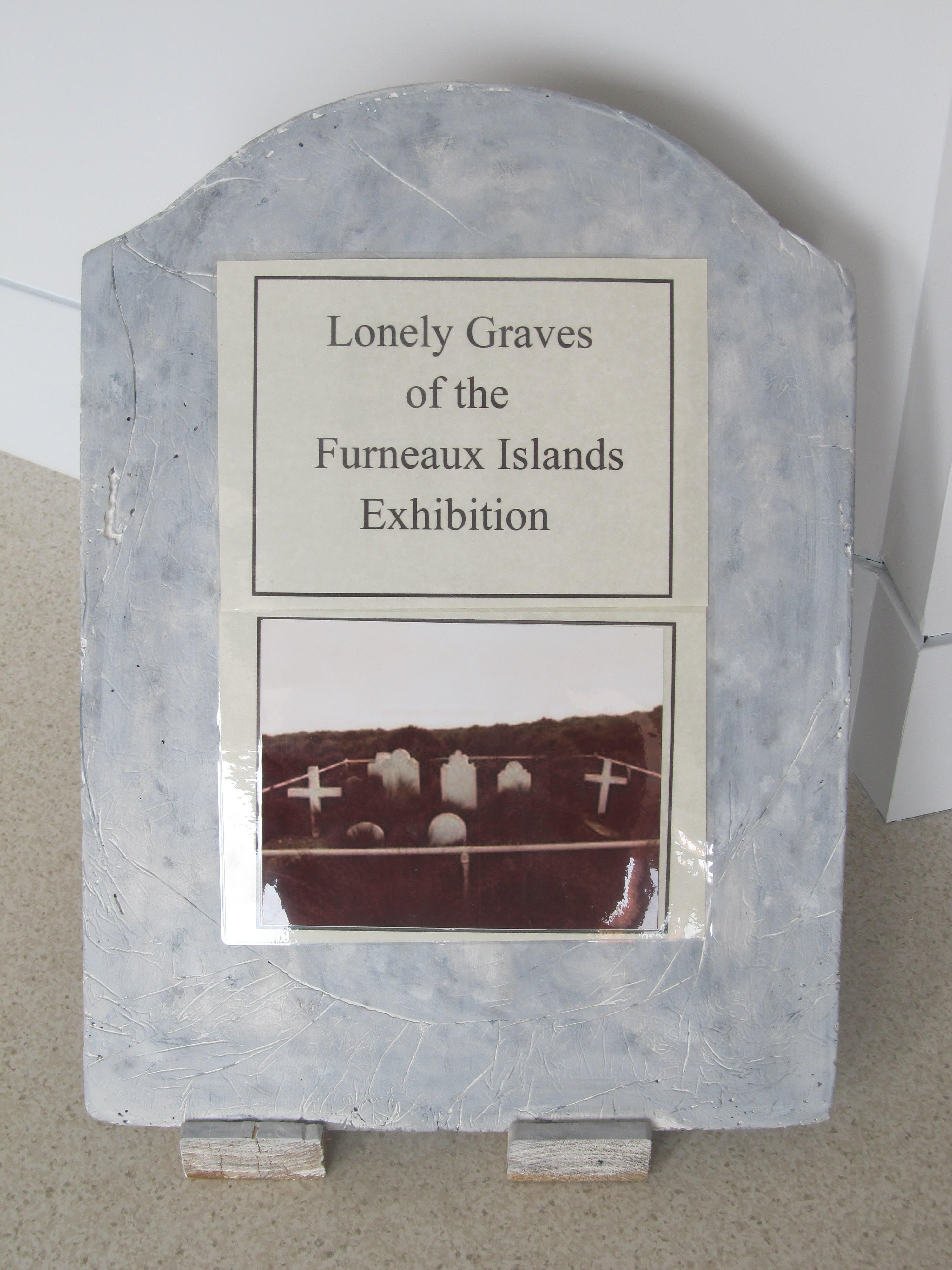 Lonely Graves of the Furneaux Islands Exhibition - Tourism Cairns