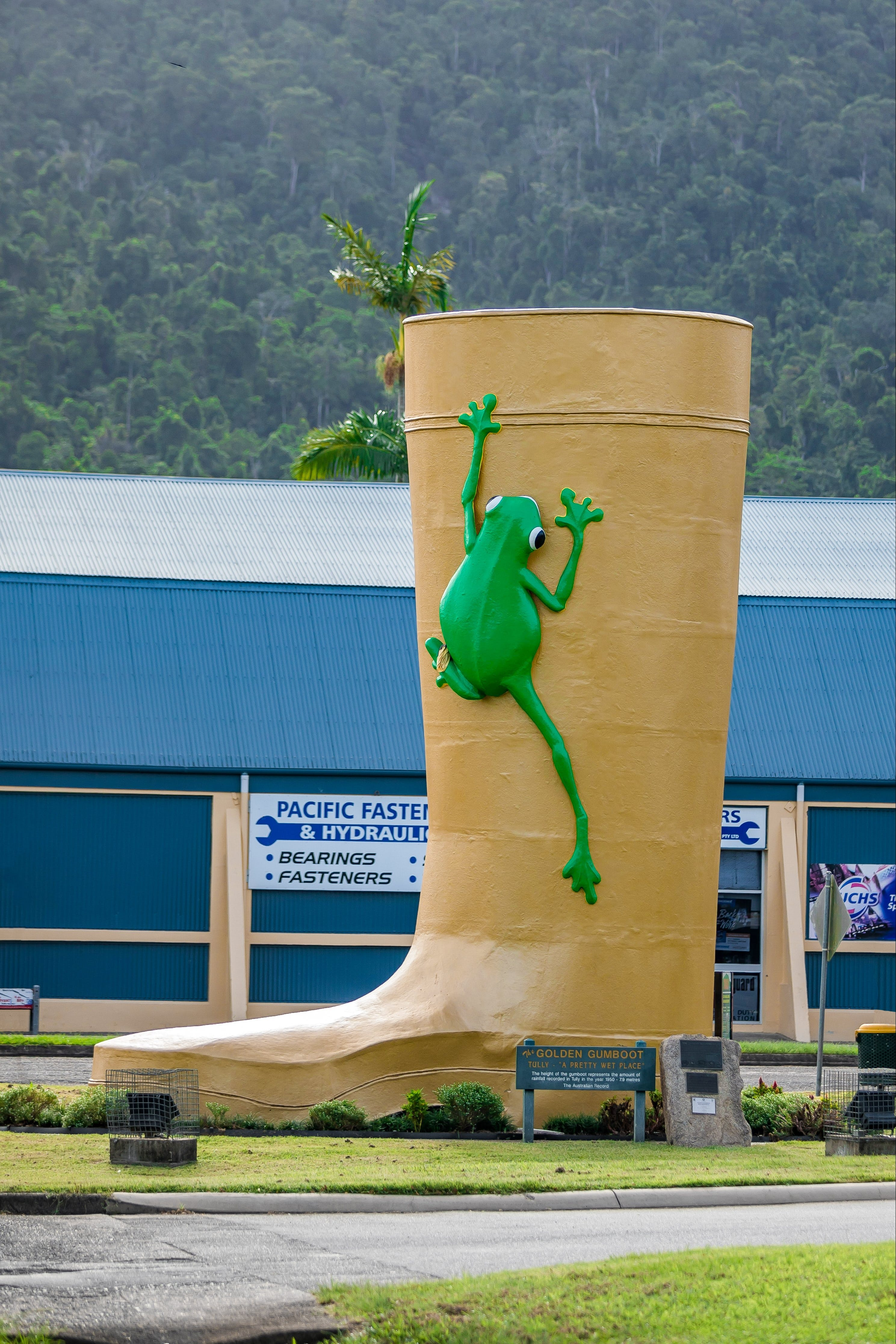 Tully Golden Gumboot - Tourism Cairns