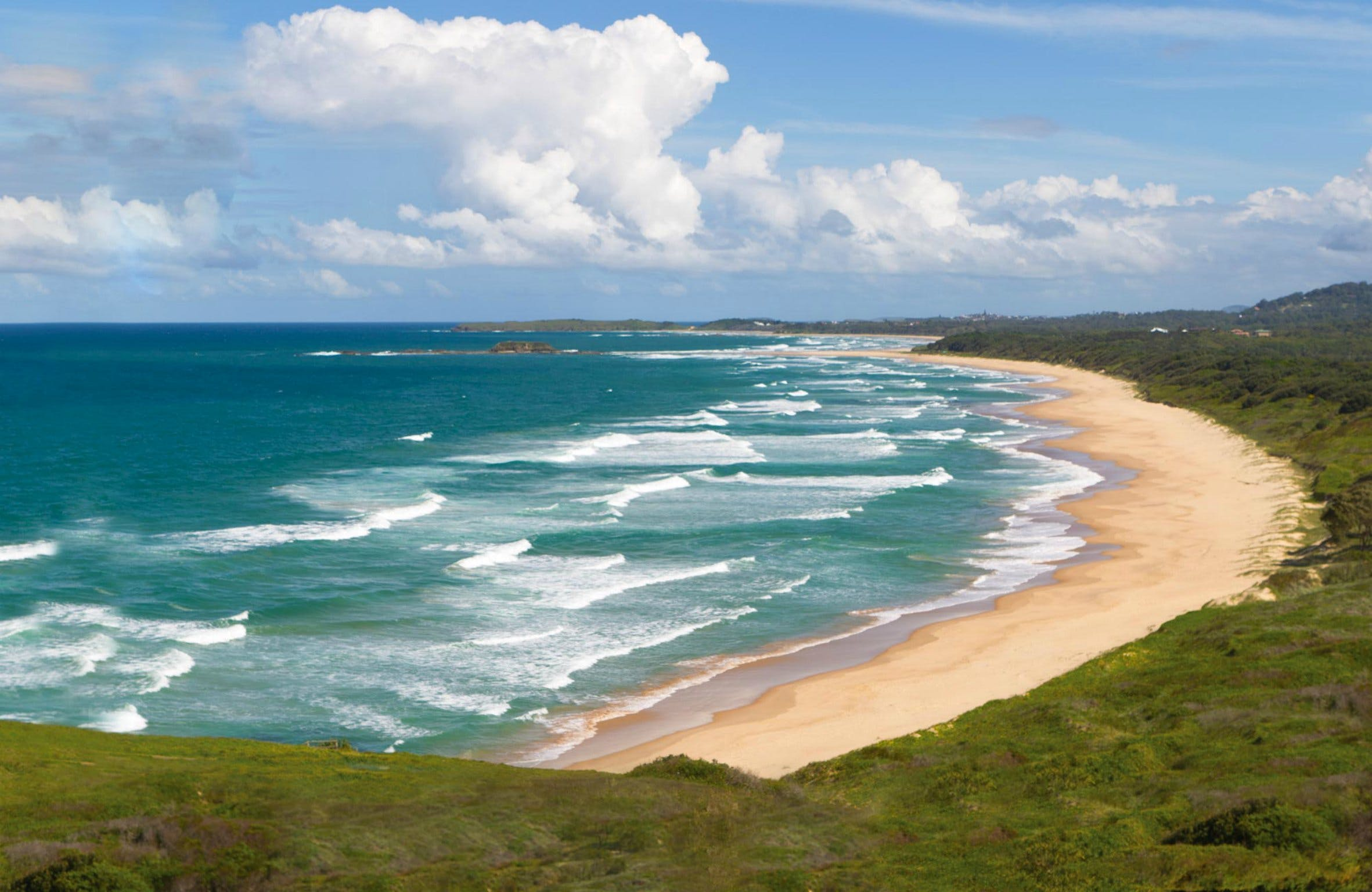 Woolgoolga Beach and Headland - Tourism Cairns