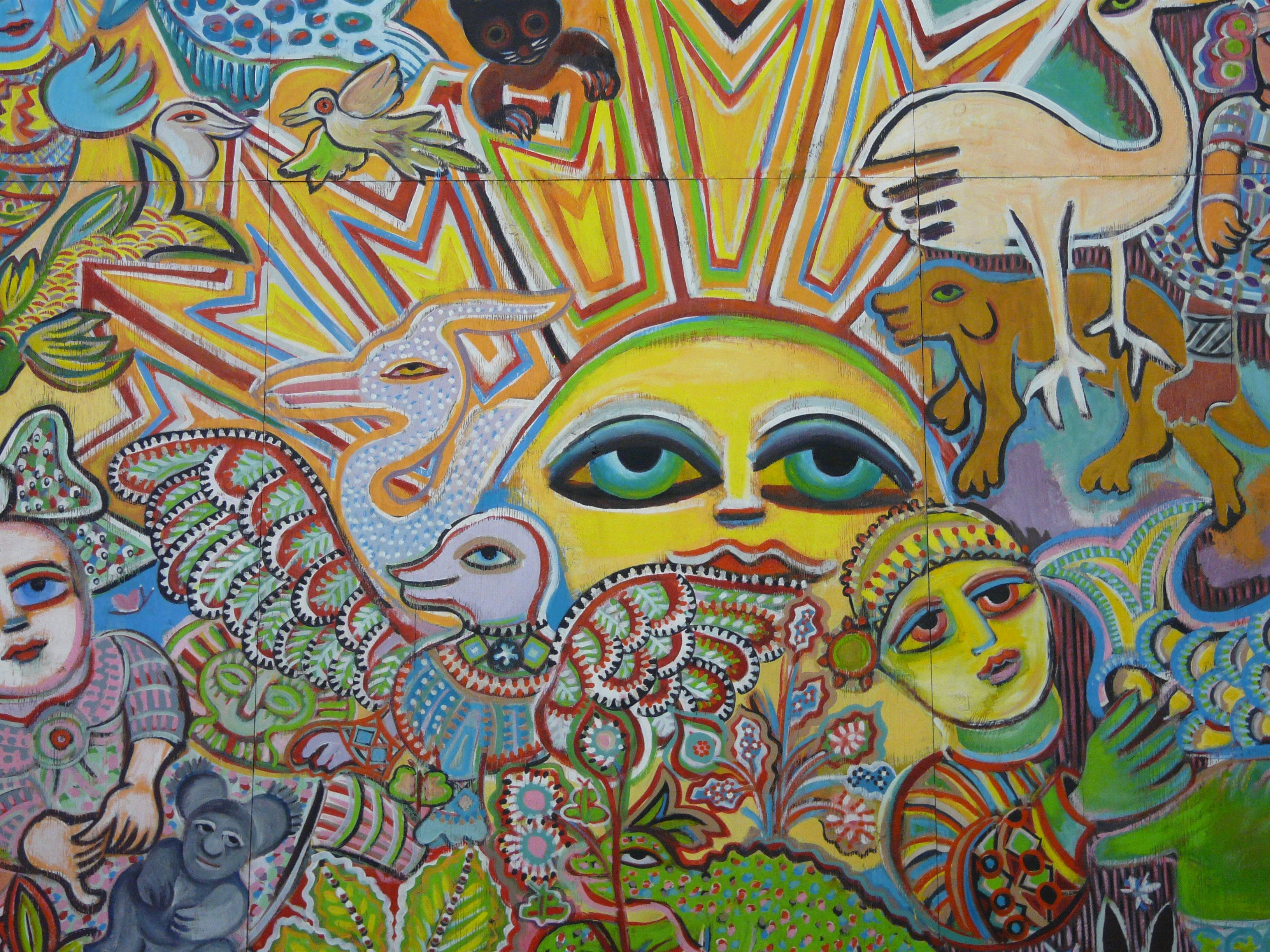 The Painting of Life by Mirka Mora - Tourism Cairns