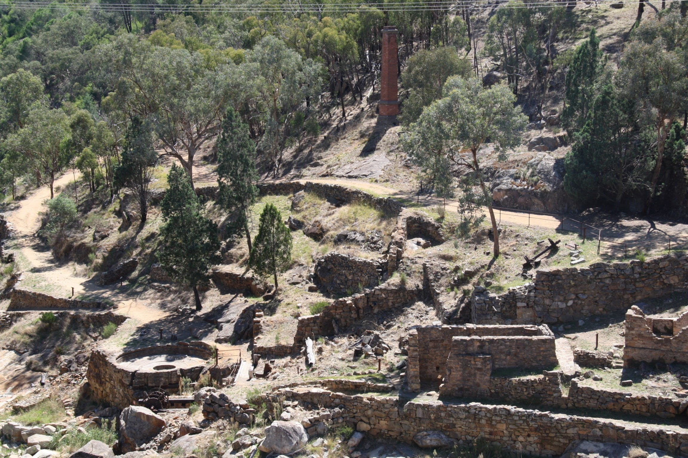 Adelong Falls Gold Mill Ruins - Tourism Cairns