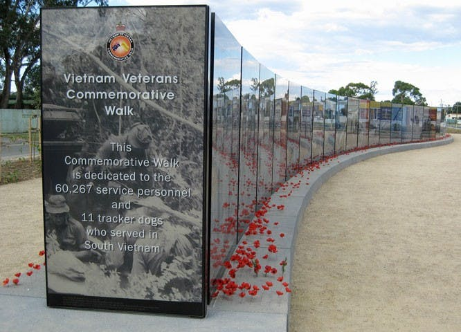Vietnam Veterans Commemorative Walk - Tourism Cairns