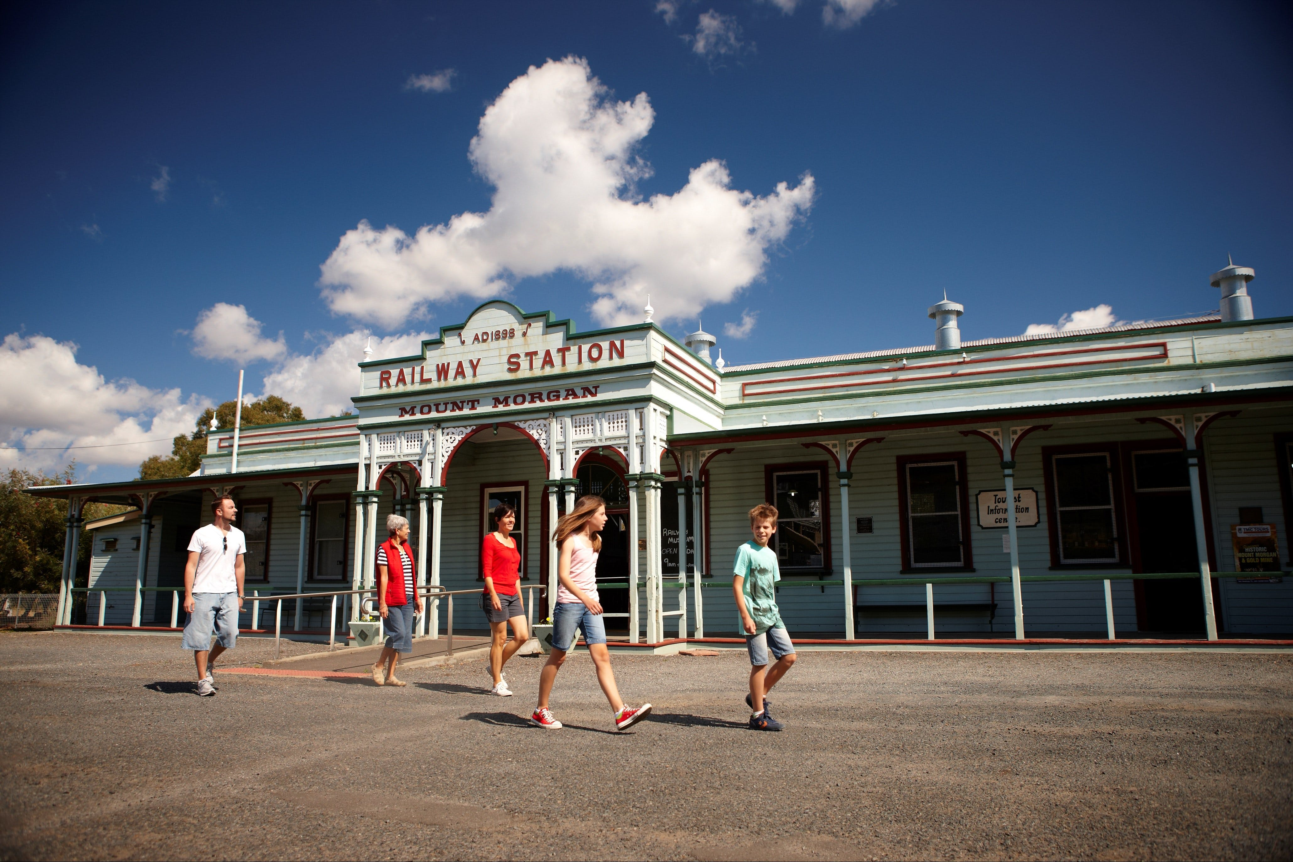 Mount Morgan Historical Railway Museum - Tourism Cairns
