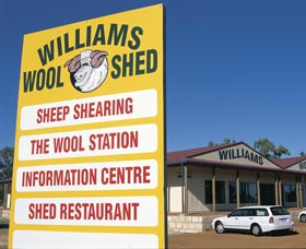 The Williams Woolshed