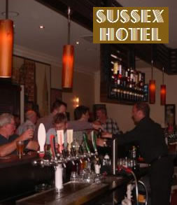 Sussex Hotel - Tourism Cairns