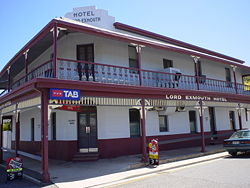Lord Exmouth Hotel - Tourism Cairns