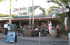 Railway Friendly Bar - Tourism Cairns