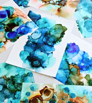 Alcohol Ink Art Class - Tourism Cairns