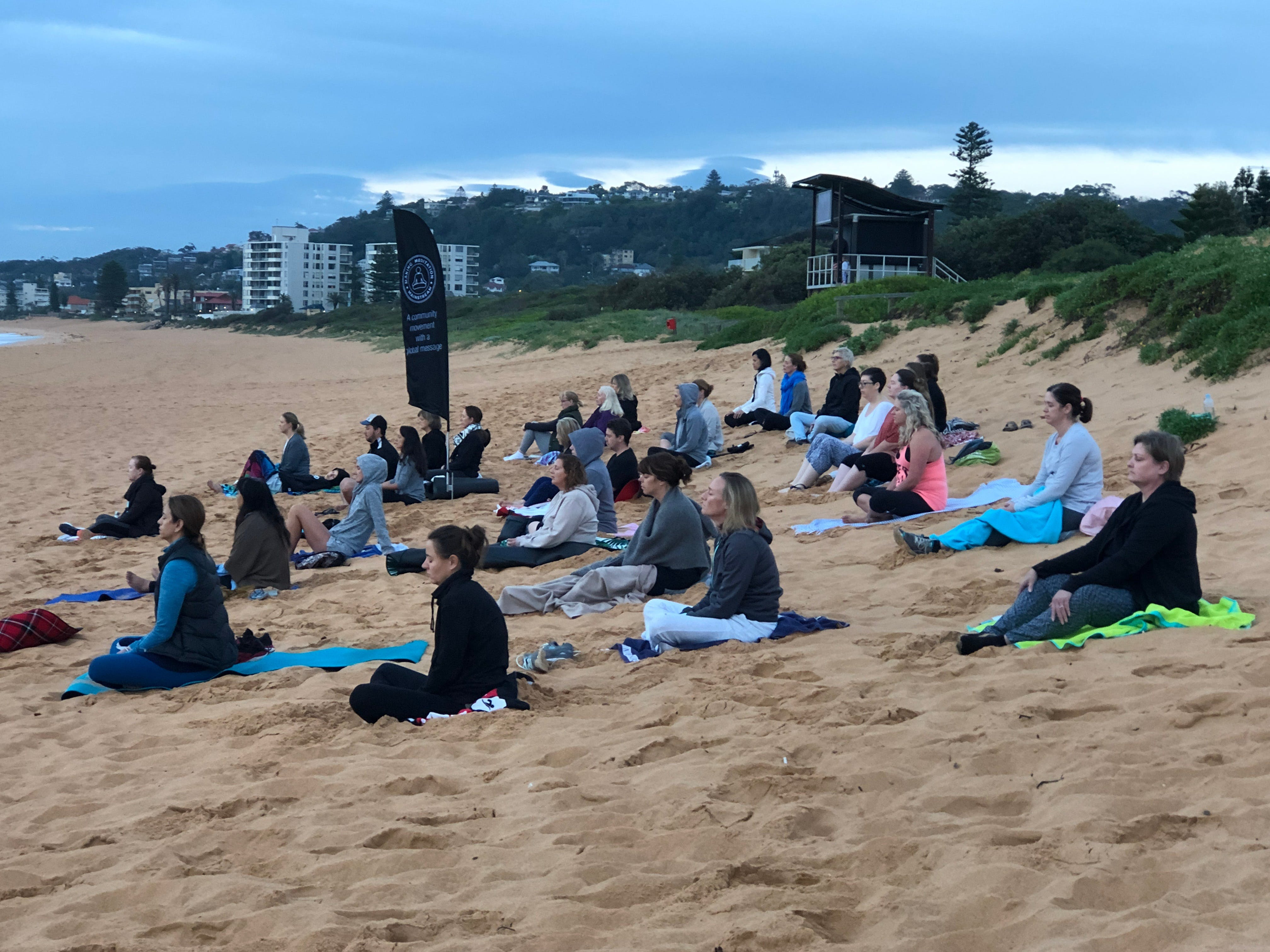 Meditation Mainstream Free Beach Meditation Session Mooloolaba - Tourism Cairns