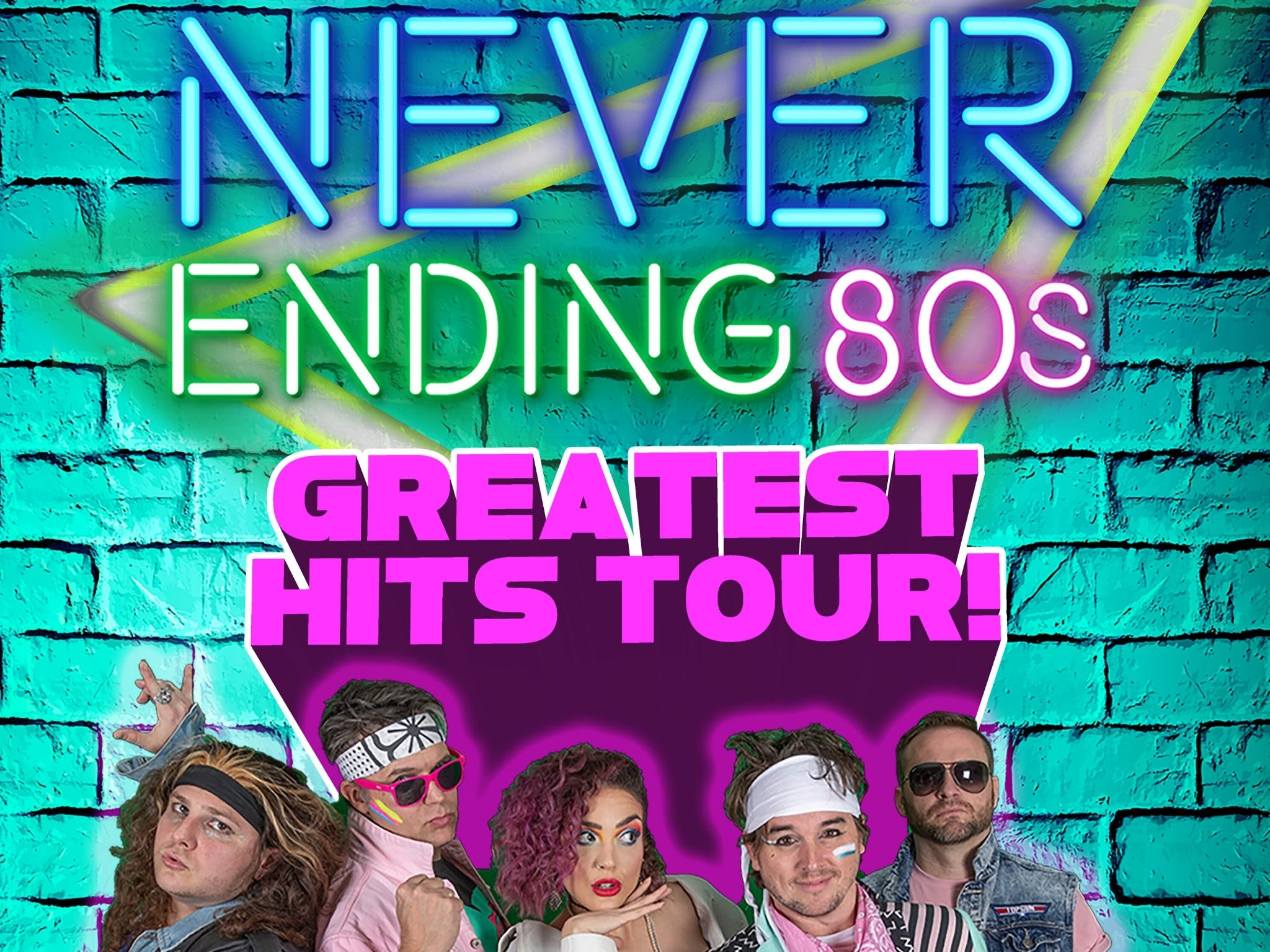 Never Ending 80s - The Greatest Hits Tour - Tourism Cairns