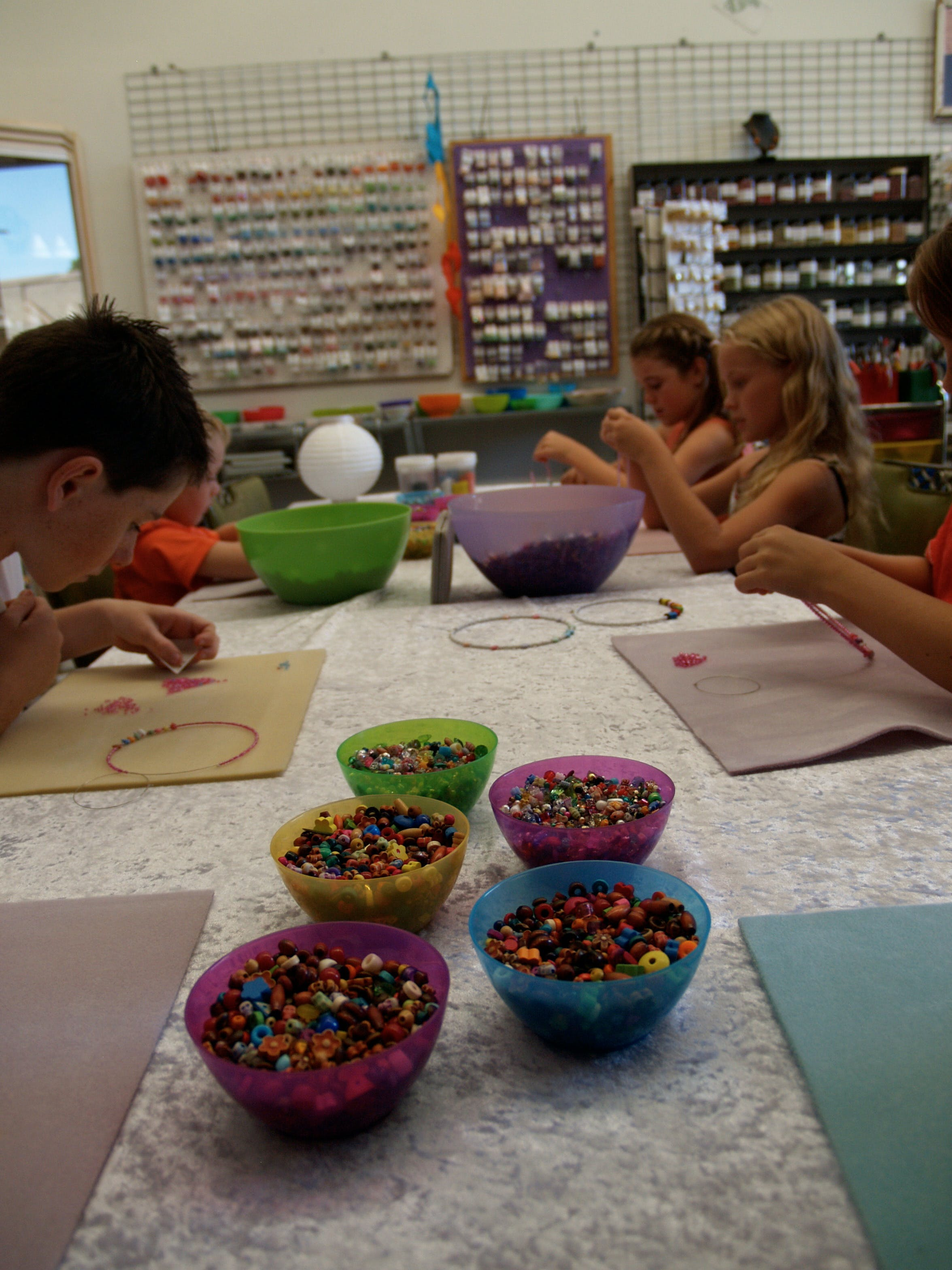 School Holiday One Hour Beading Workshops - Tourism Cairns