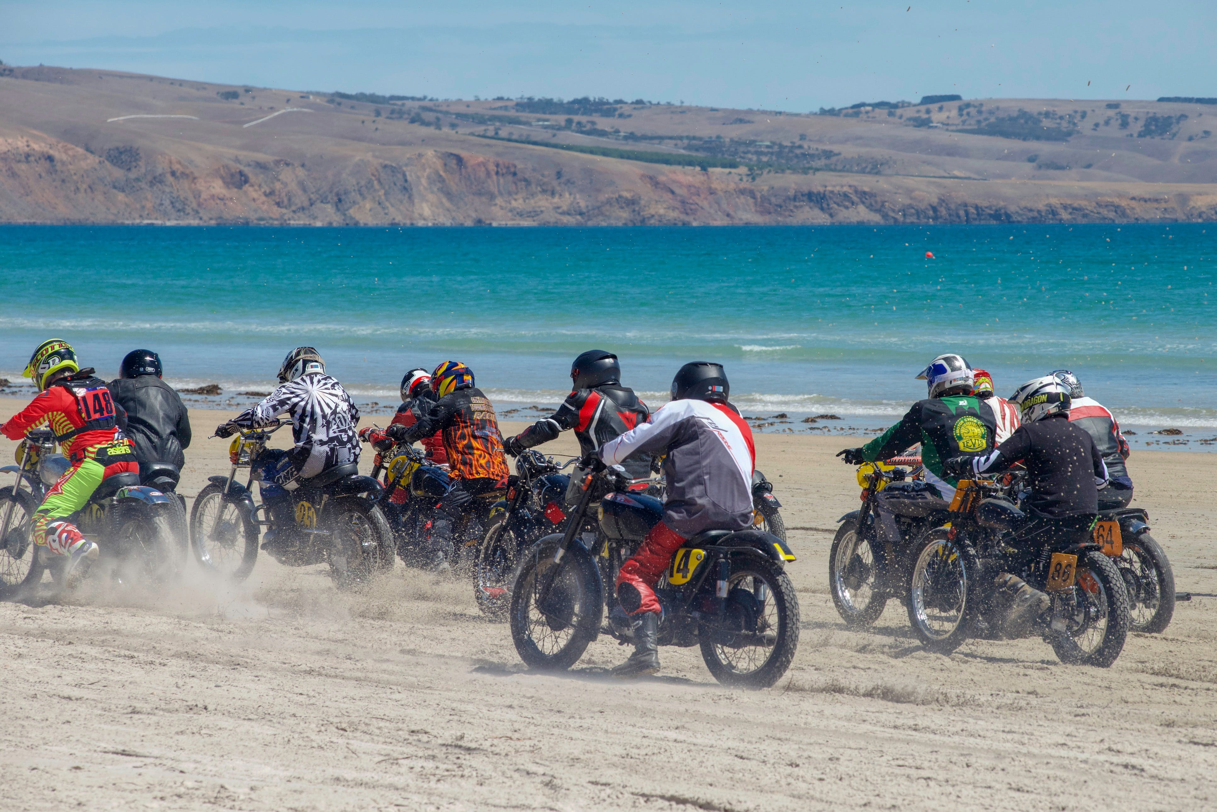 Sellicks Beach Historic Motorcycle Races - Tourism Cairns