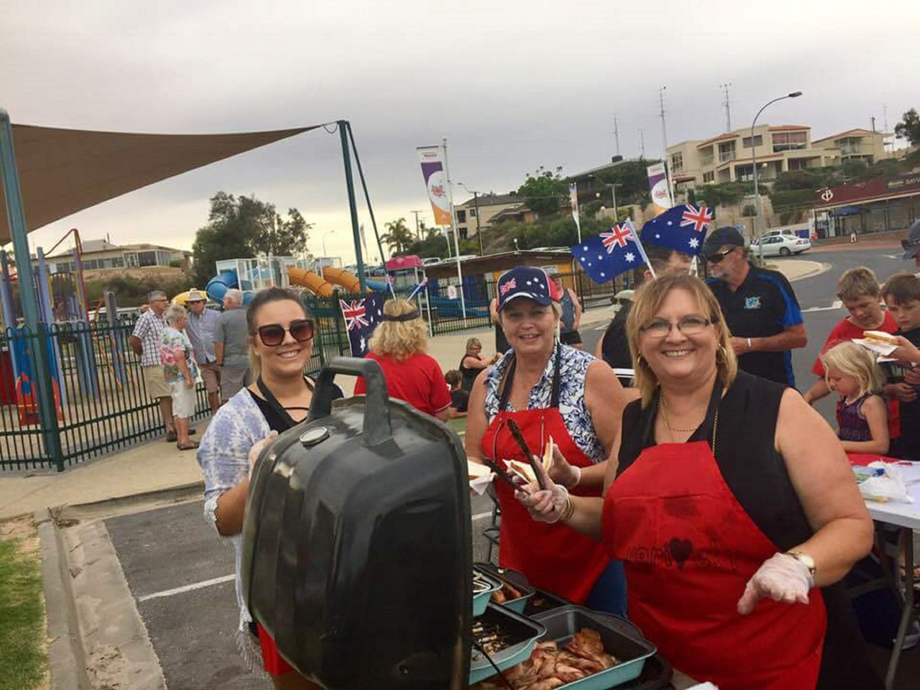 Australia Day BBQ Breakfast  Moonta Bay - Tourism Cairns