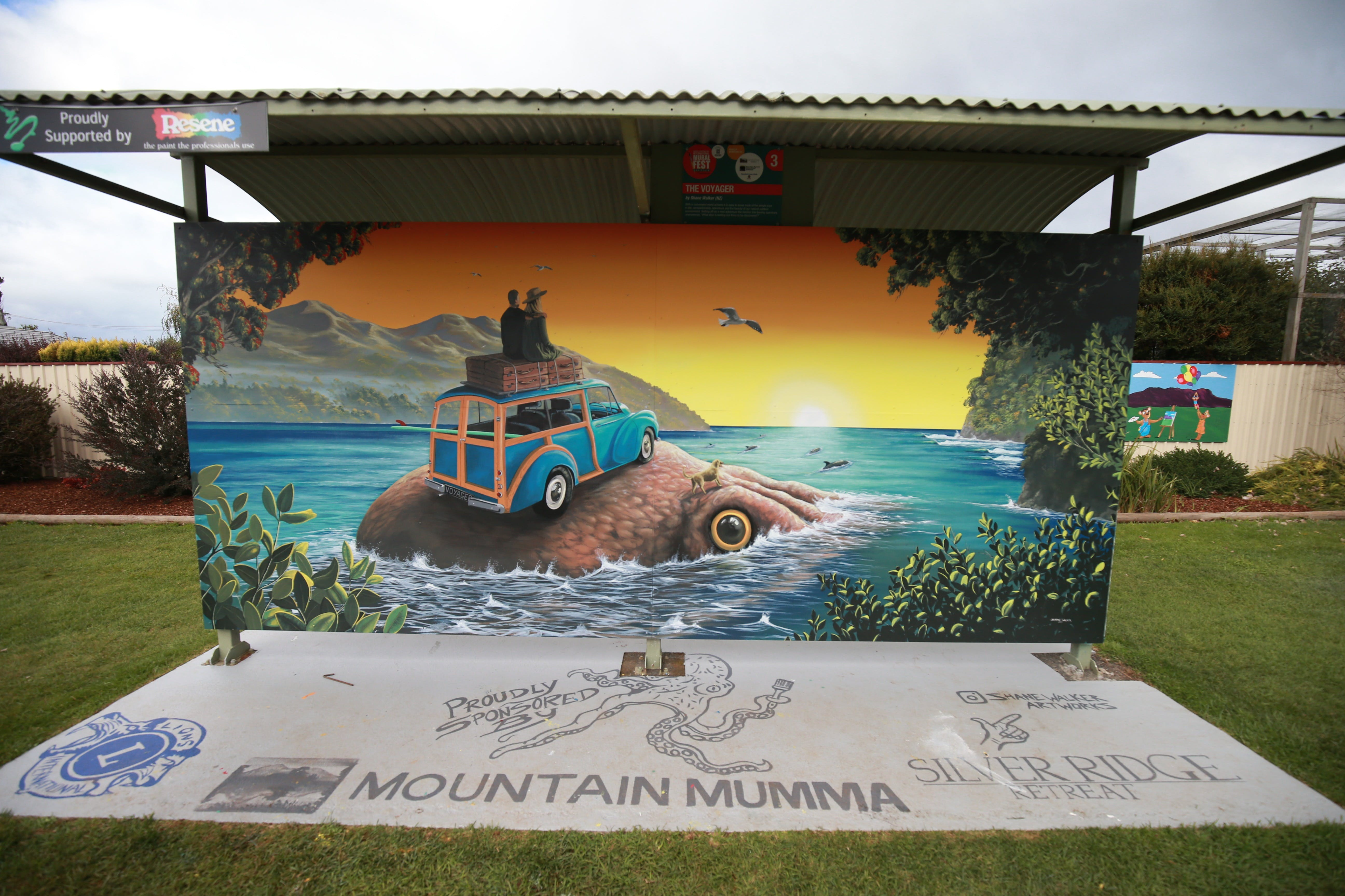 Davies Construction International Mural Fest - Tourism Cairns