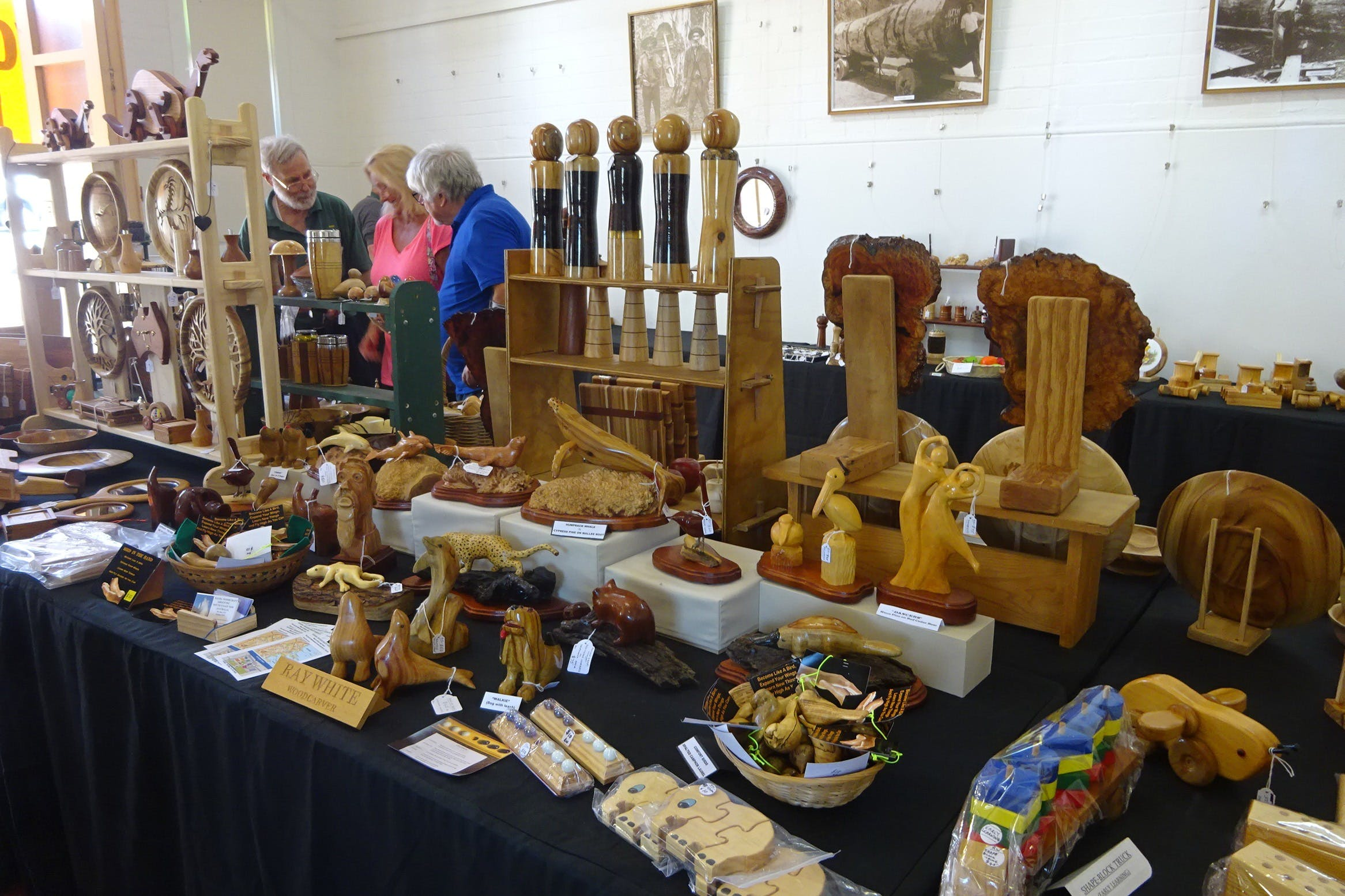 Kiama Woodcraft Group - Exhibition and Sales - Tourism Cairns