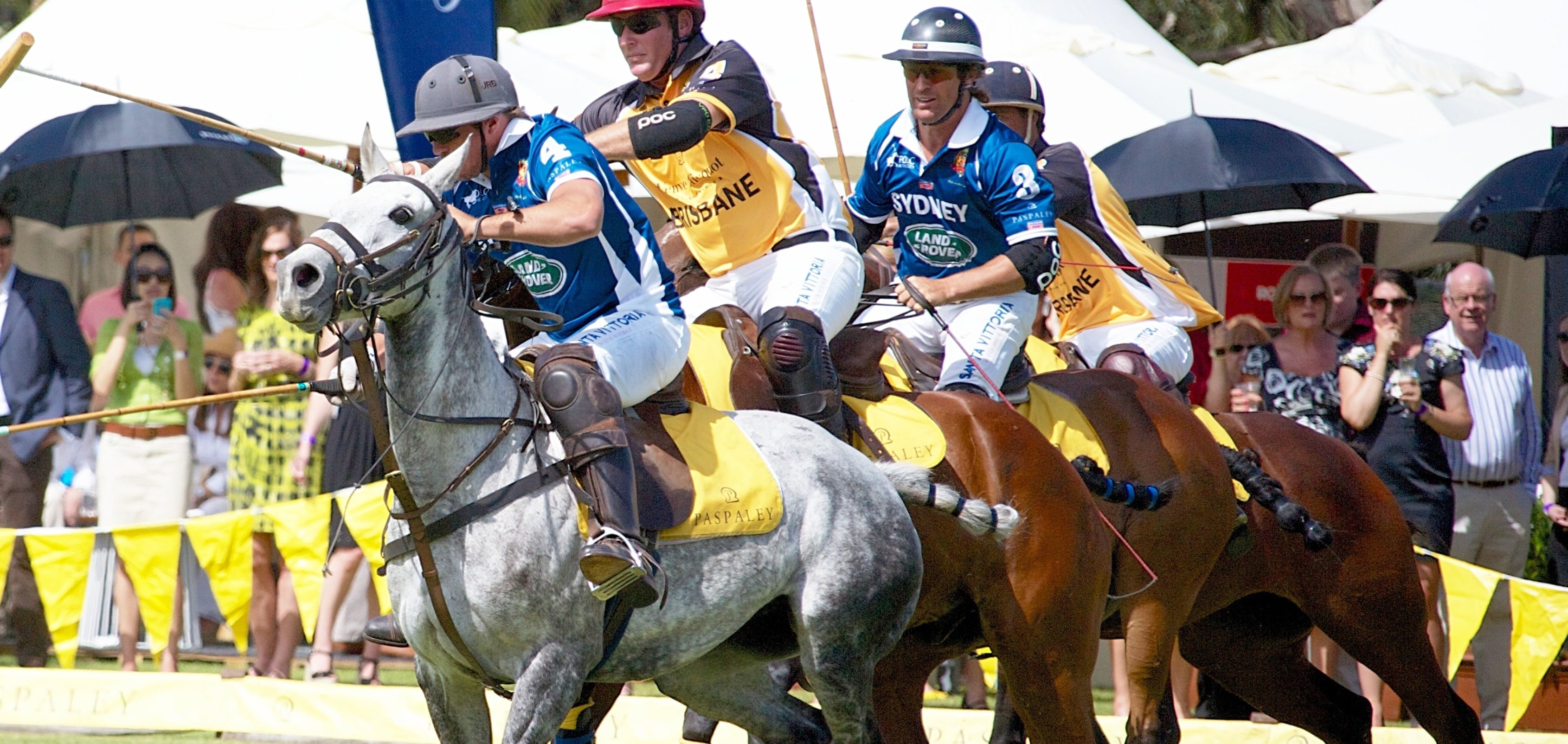 Land Rover Polo in the City Brisbane - Tourism Cairns